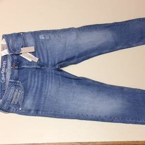 Calvin Klein Jeans Womens Slim Boyfriend Fit Denim
